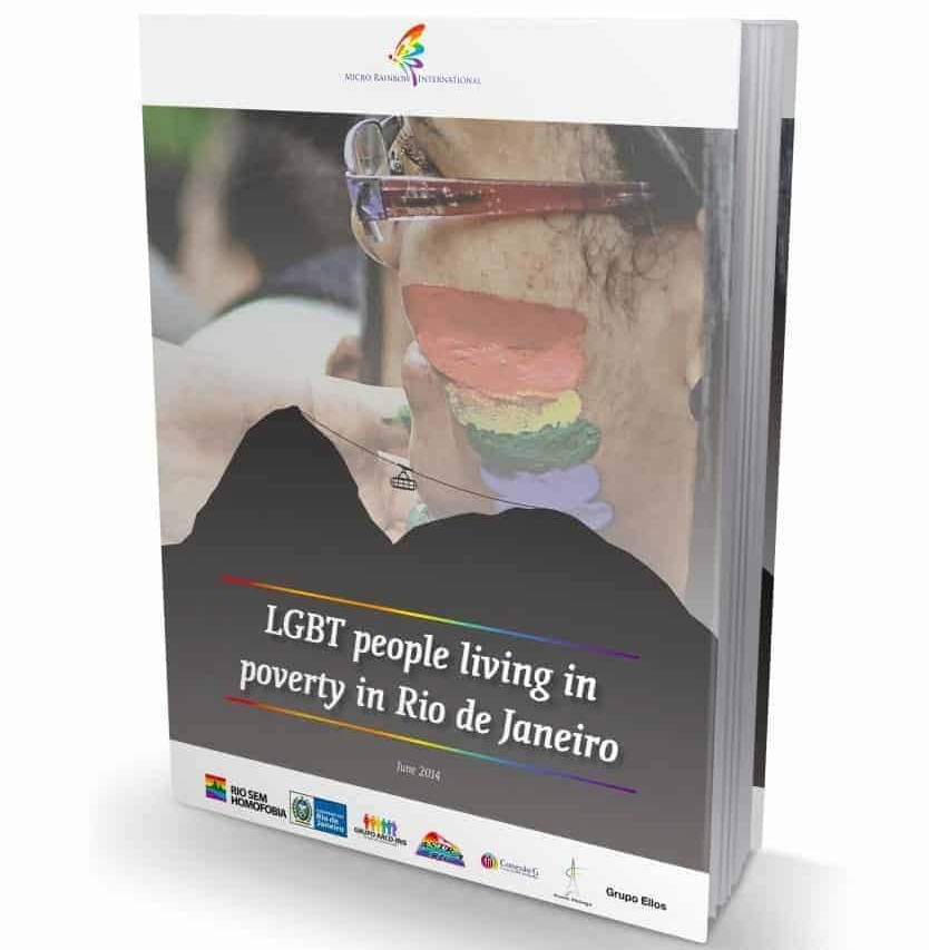 LGBT people living in poverty in Rio de Janeiro Report Cover