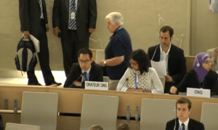 UN HRC 27: Statement on the situation of human rights in Cambodia