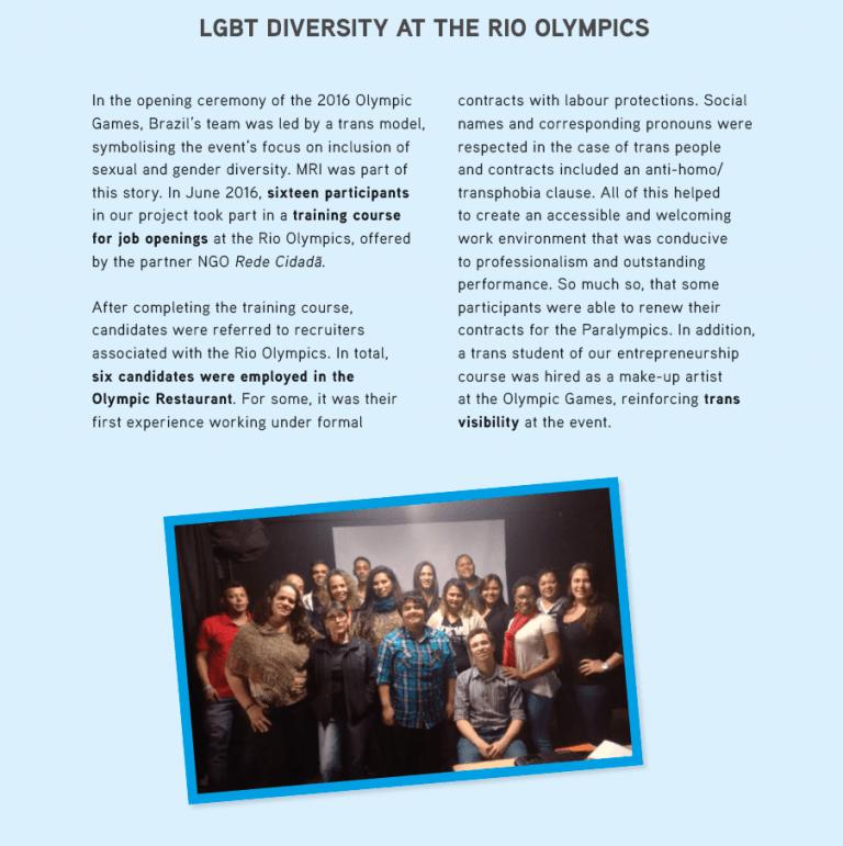 LGBTI Diversity at the Rio Olympics